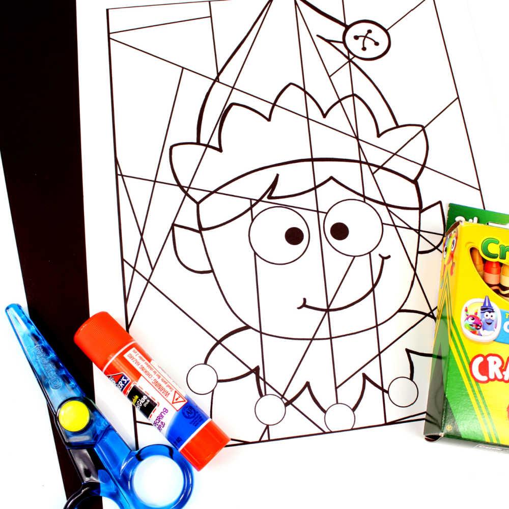 boy elf craft supplies