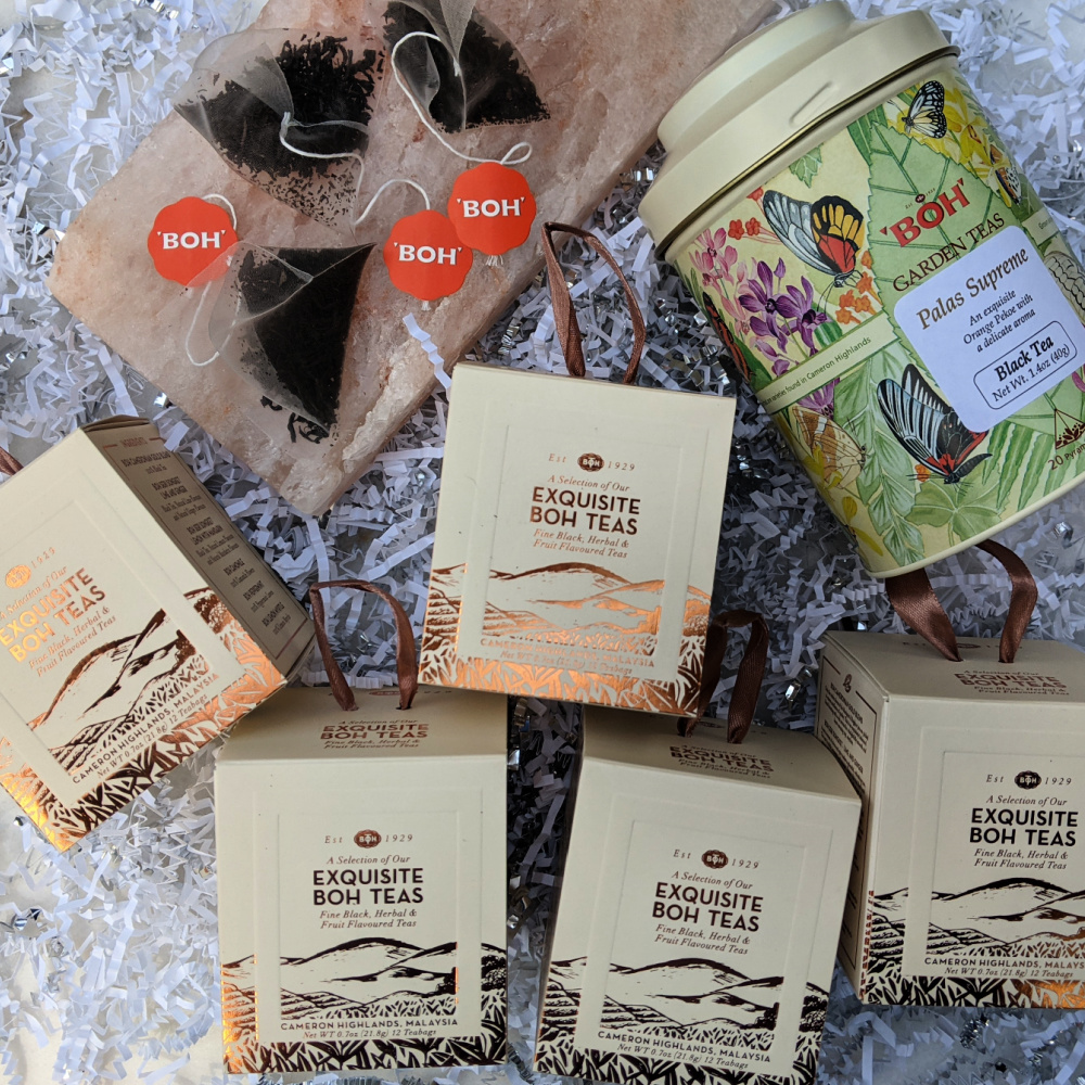 boh tea prize package