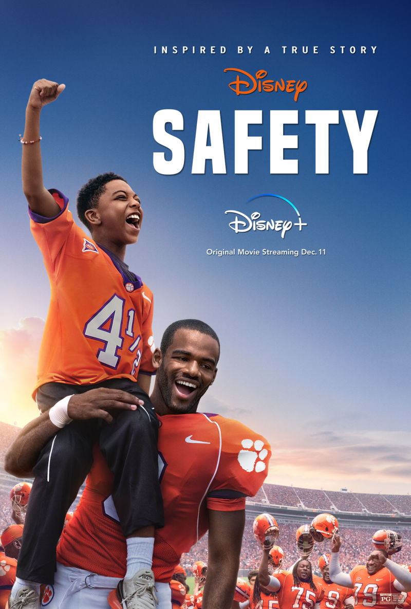 Be sure to watch the new Safety movie on Disney+, so that you can be inspired and uplifted by this film that is based on a true story.