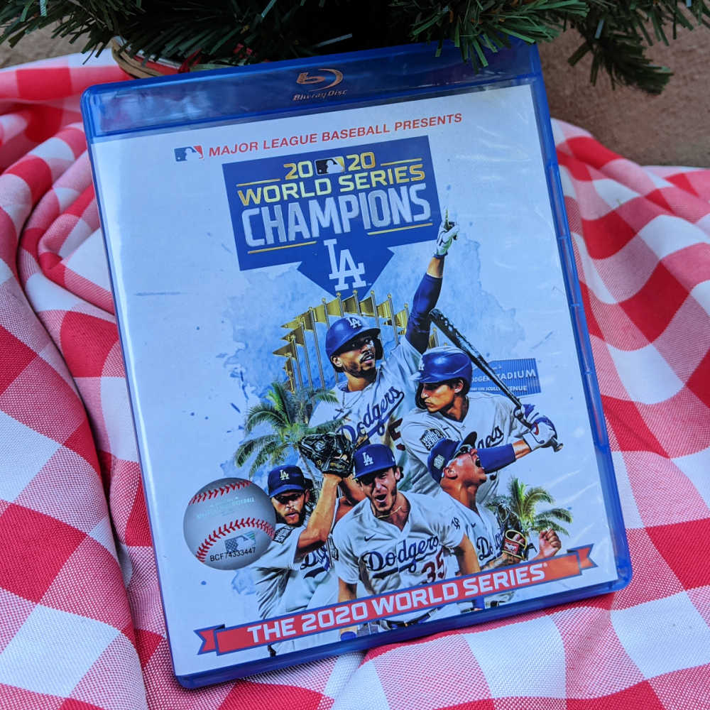 2020 has definitely been a challenge, so it is great to celebrate with the World Series Champions LA Dodgers blu-ray set.