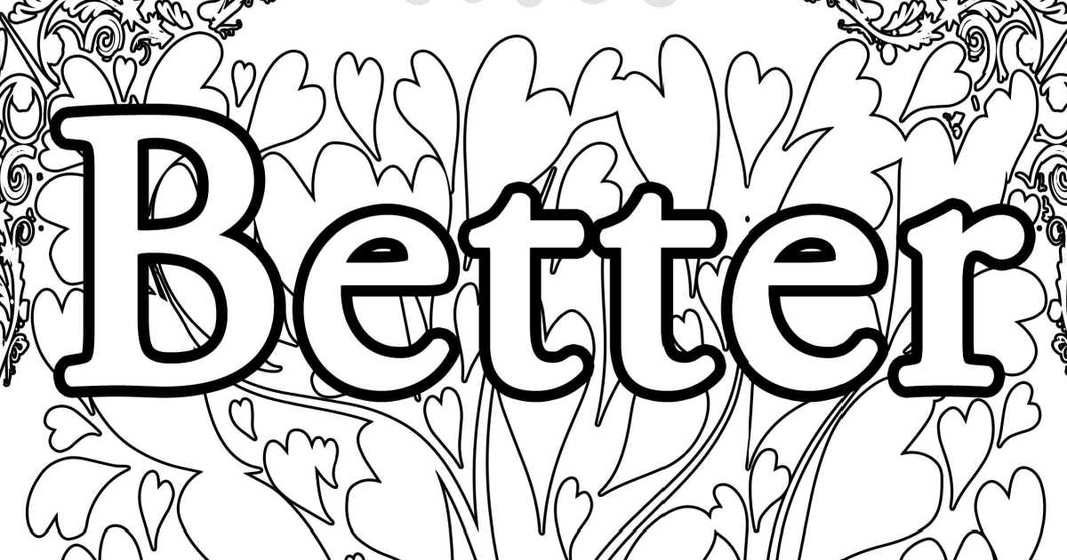 feature better your best coloring page