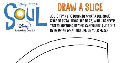feature disney pixar coloring page pizza