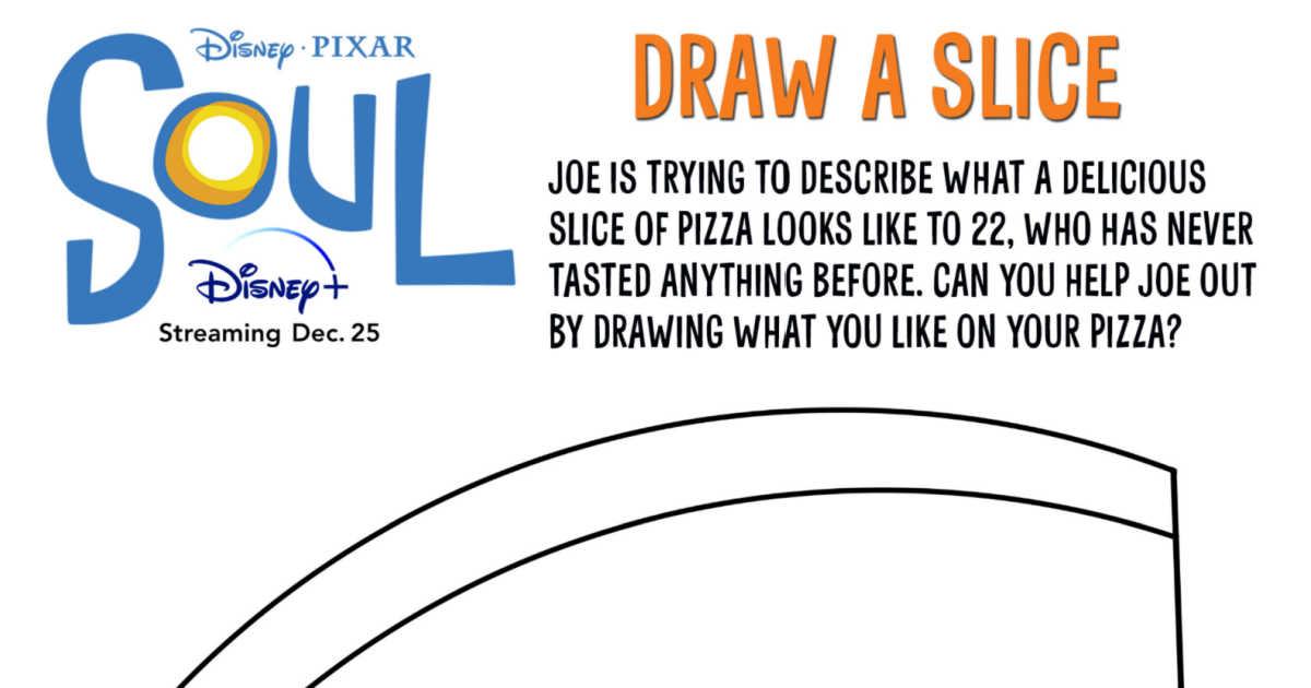 feature disney pixar coloring page pizza
