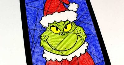 feature grinch coloring page
