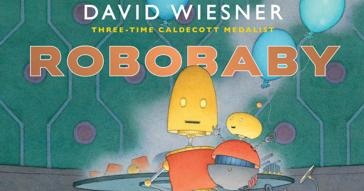 feature robobaby picture book