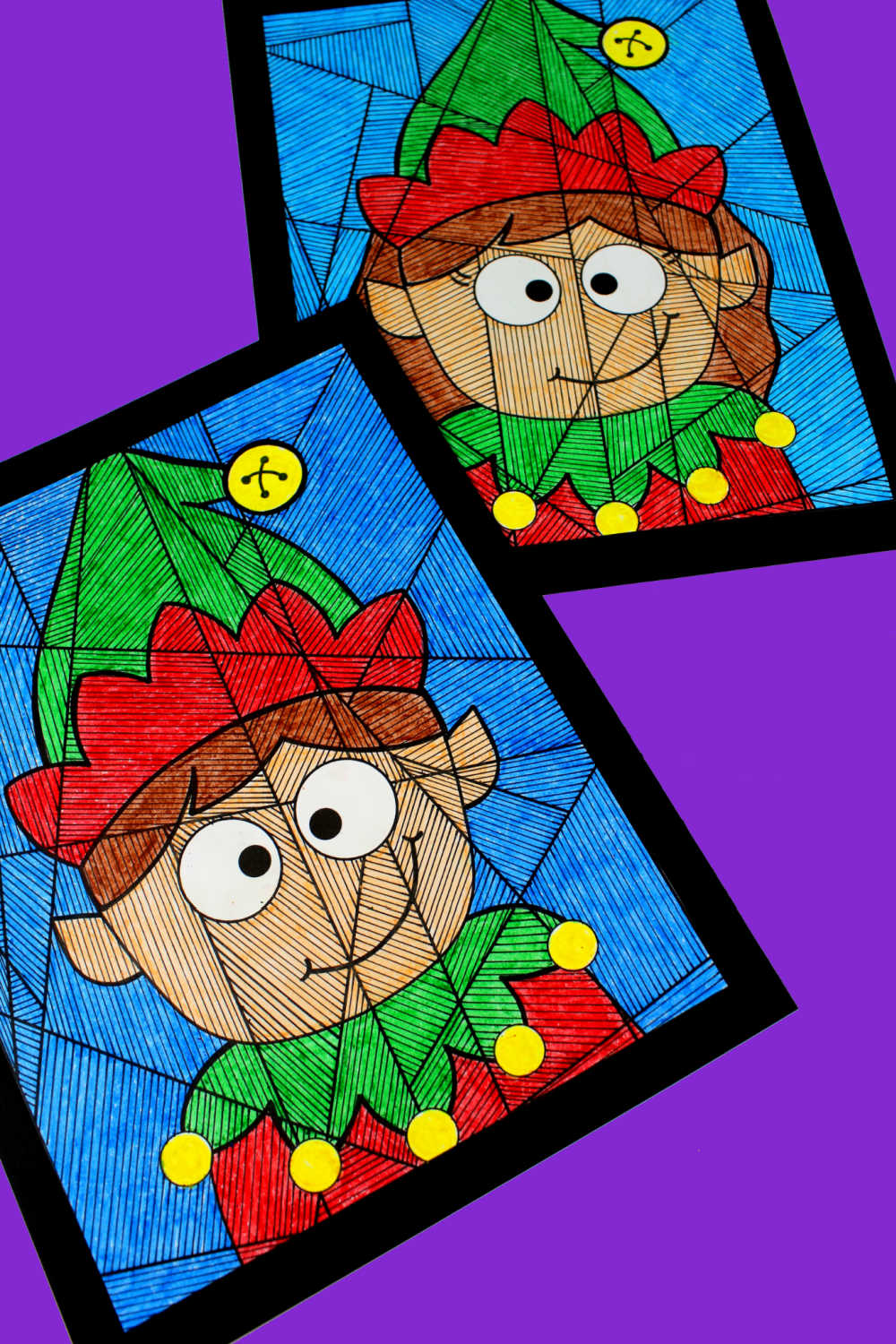 printable boy and girl elf activities