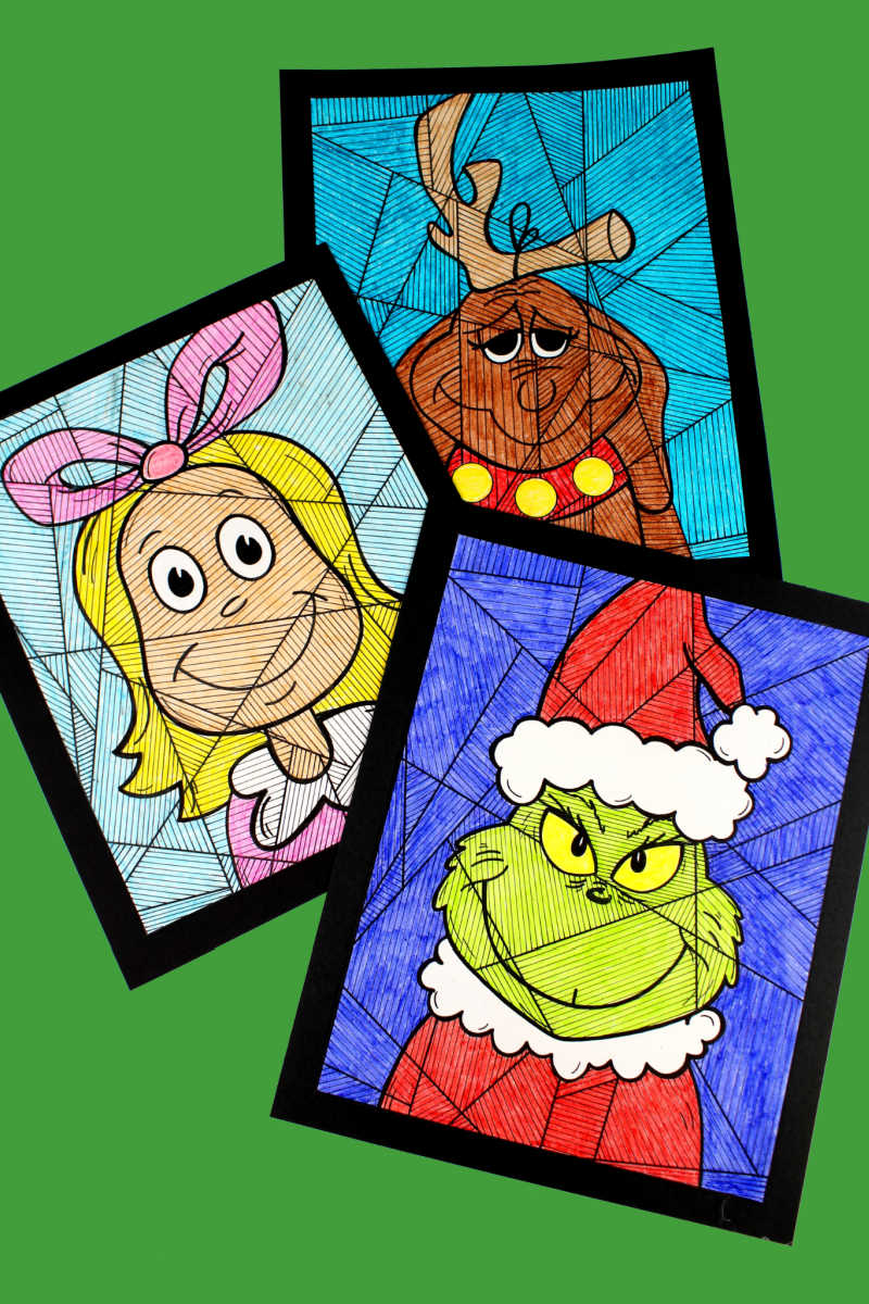 the grinch coloring pages