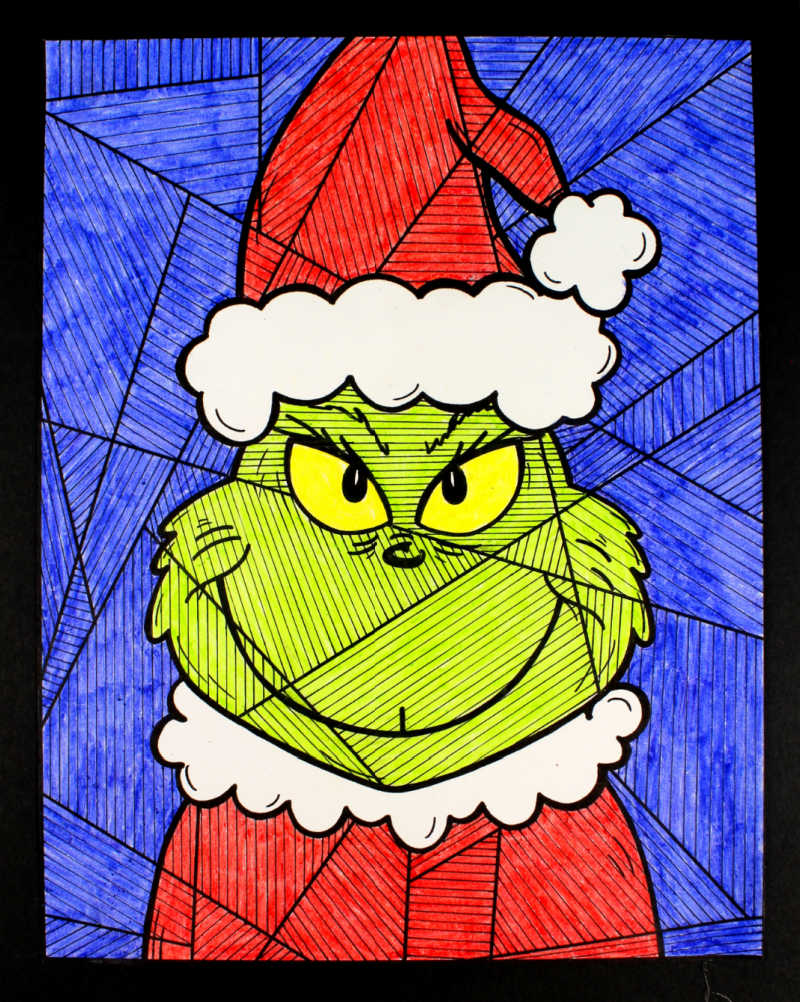 Free Printable The Grinch Coloring Page Mama Likes This