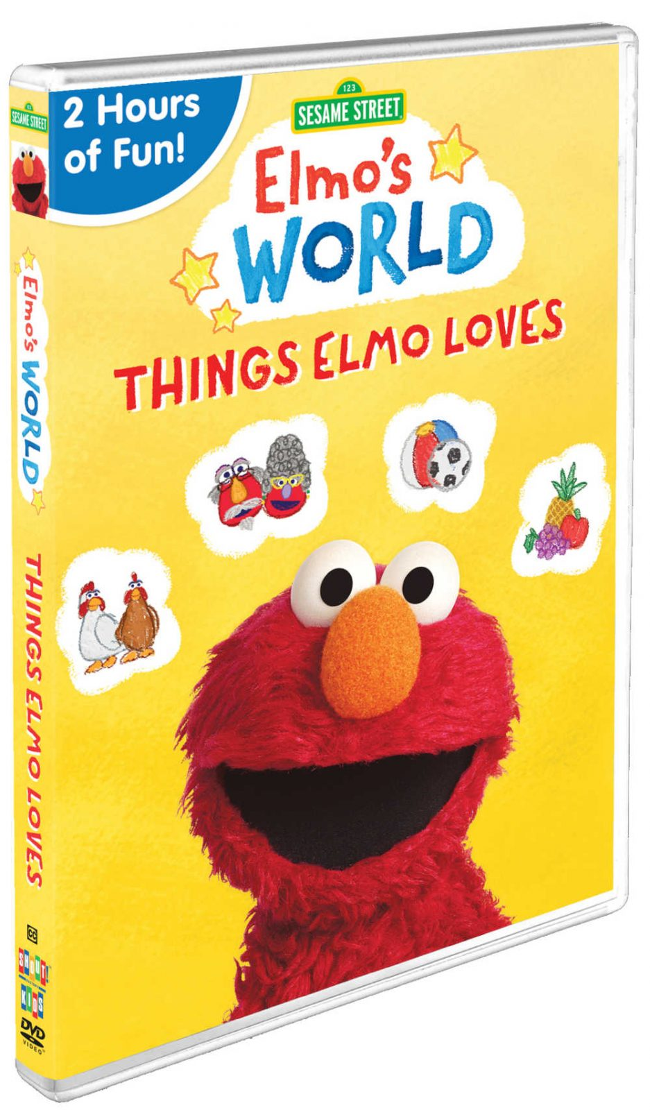 Kids can have fun learning all about the things Elmo loves, when they watch the new Sesame Street Elmo's World DVD from Shout! Kids.