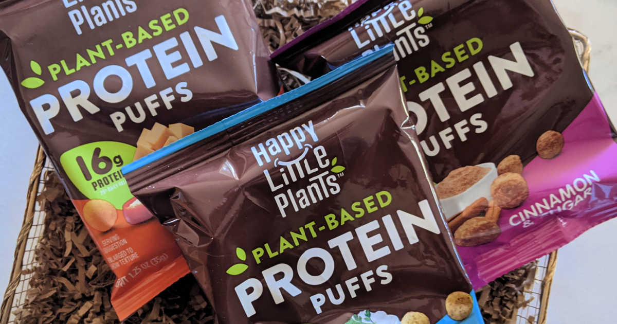 feature happy little plants protein puffs