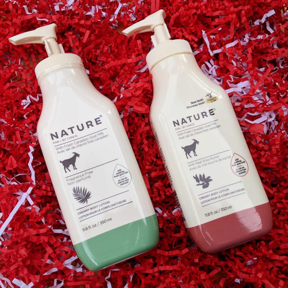 canus goat milk lotion