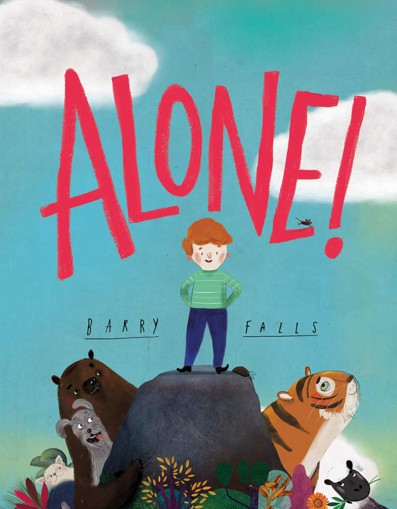 childrens book - alone by barry falls.
