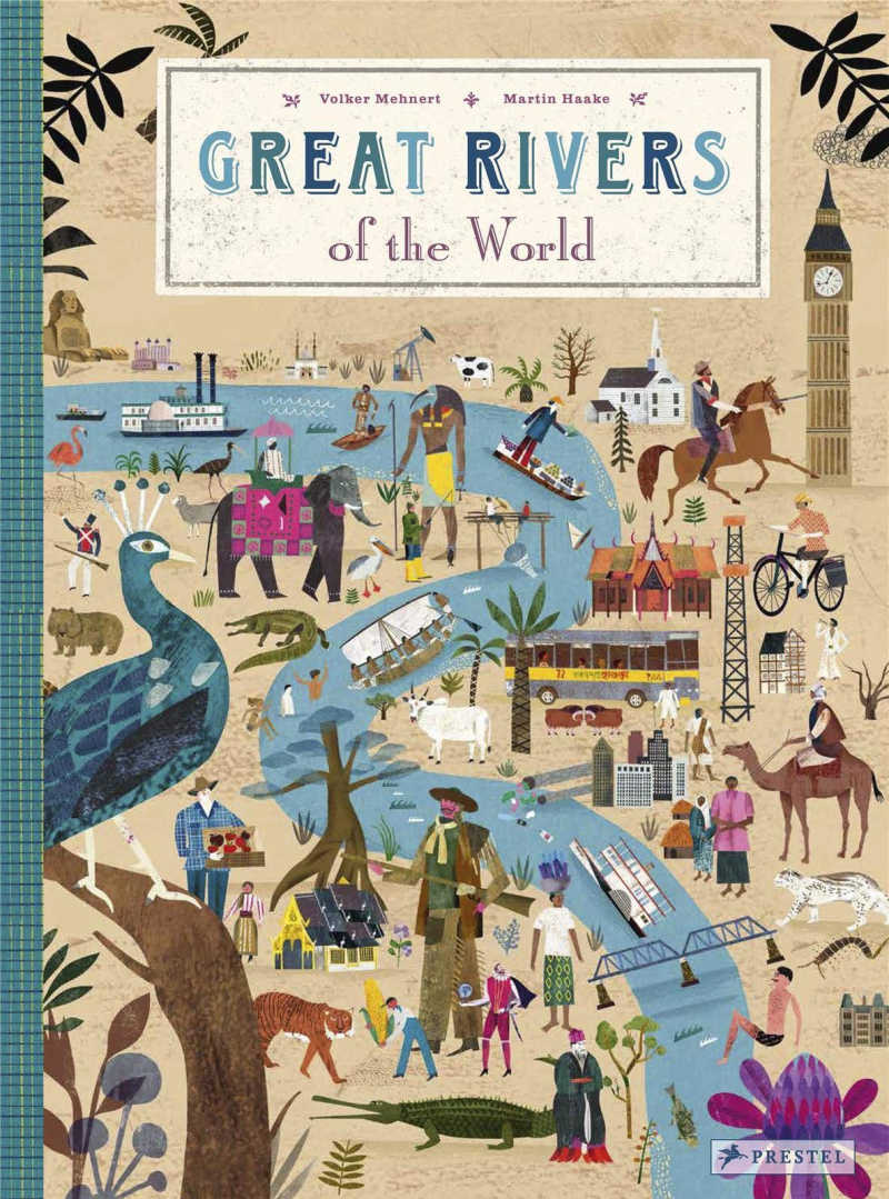 childrens book - great rivers of the world.