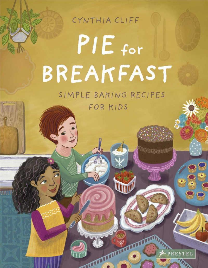 childrens book - pie for breakfast.