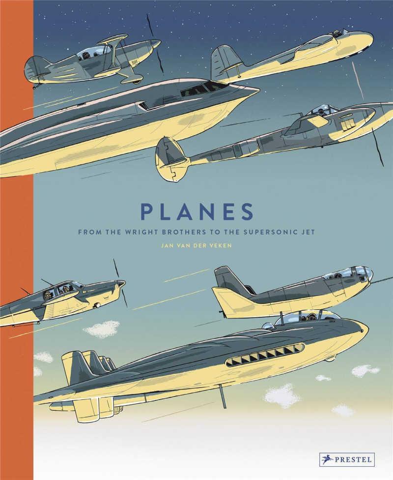 childrens book - planes.