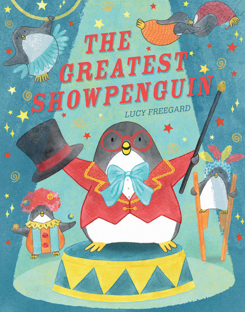 childrens book - the greatest show penguin.