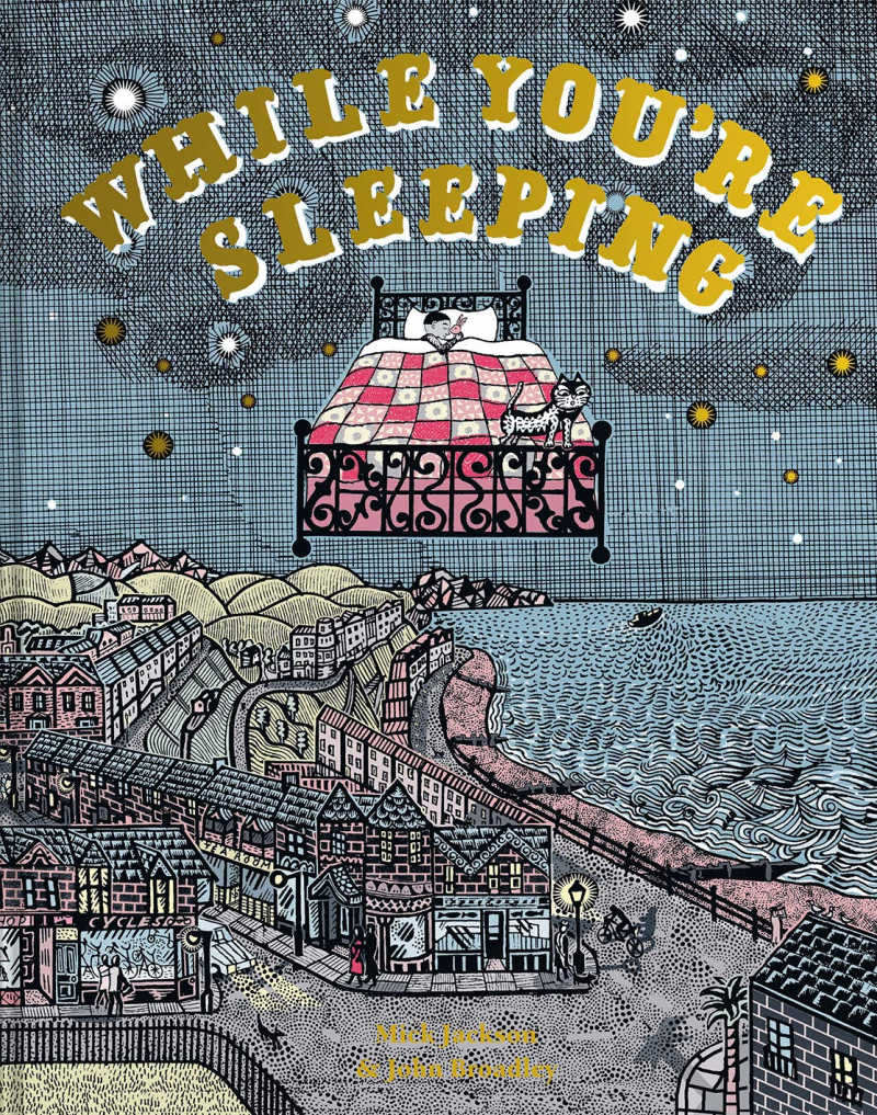 childrens book - while you're sleeping.