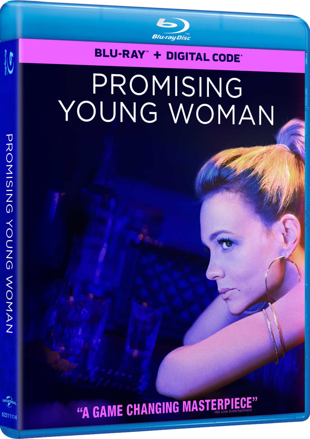 Enjoy certified freshness, when you watch the four time Golden Globe nominee, Promising Young Woman on Blu-ray and digital.