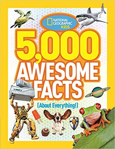 book - 5000 awesome facts.