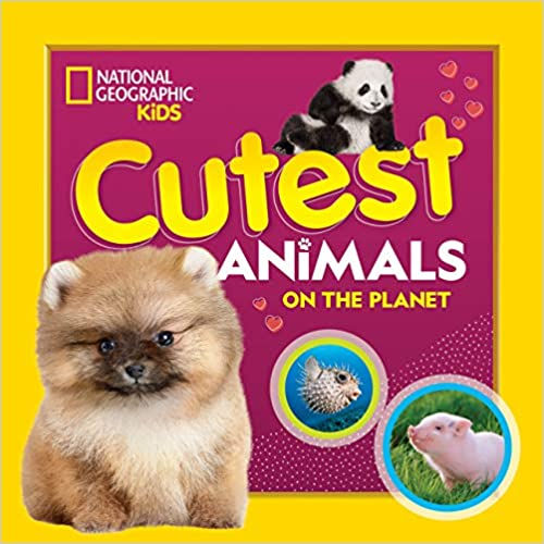 book - cutest animals on the planet.