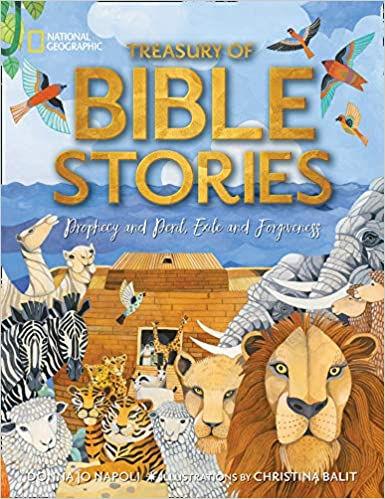 book - nat geo bible stories.