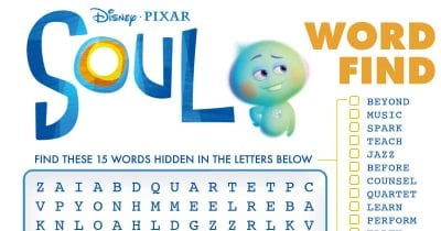 disney soul word search.