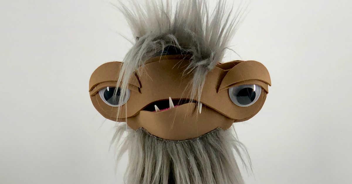 jim henson clod puppet craft.