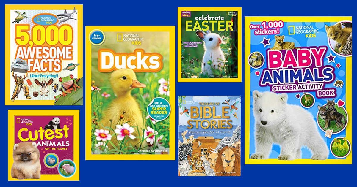 six nat geo kids spring books
