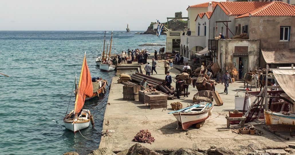 greek boating village.