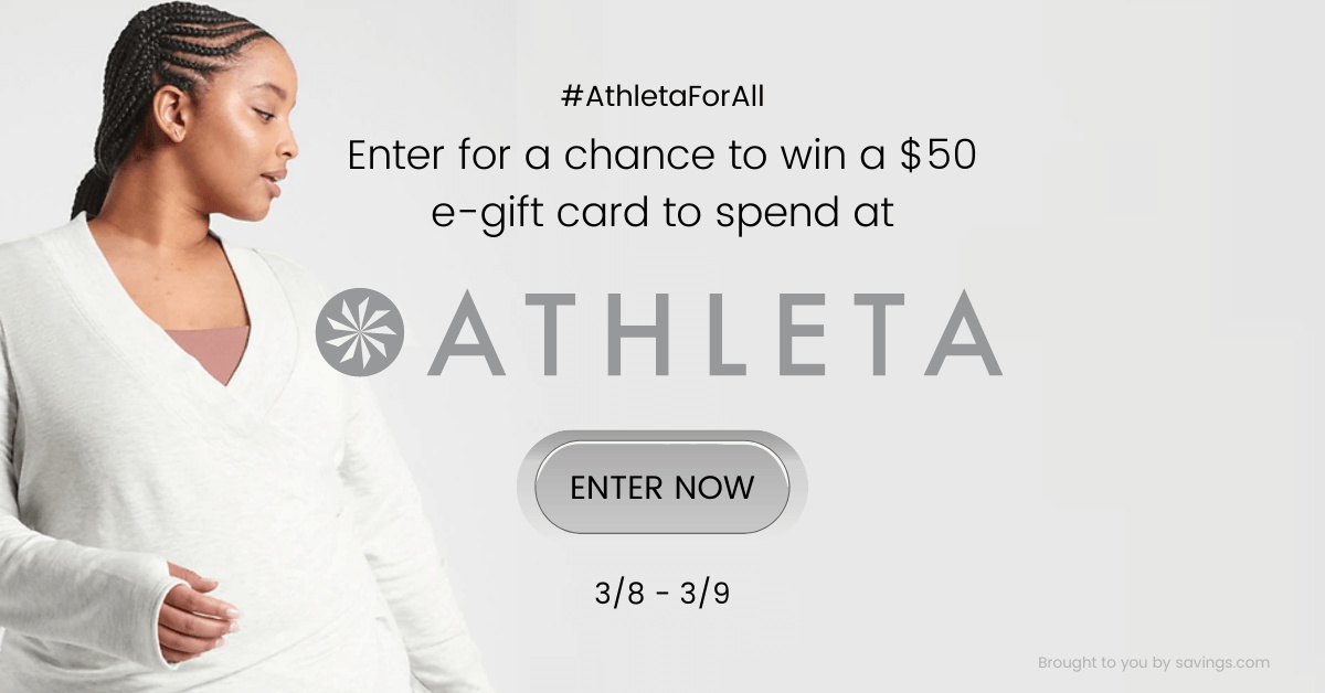 Athleta Gift Card Giveaway