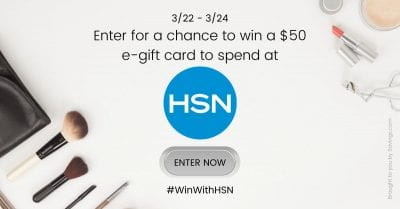 march 2021 hsn gift card giveaway.