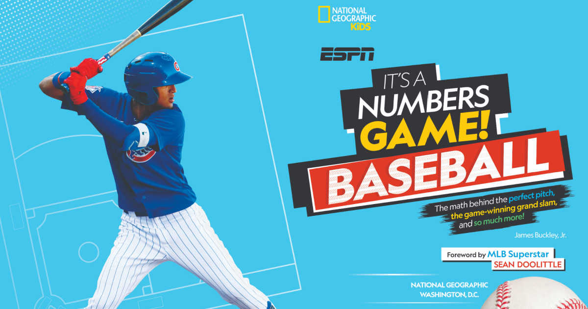 MLB Opening Day is April 1st, so now is the perfect time for kids to dig into the Nat Geo Baseball book It's A Numbers Game! Baseball.