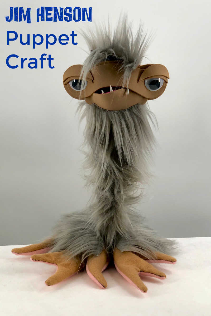 Now you can make your own Jim Henson Puppet craft, when you build a CLOD from the Disney+ Earth to Ned show.