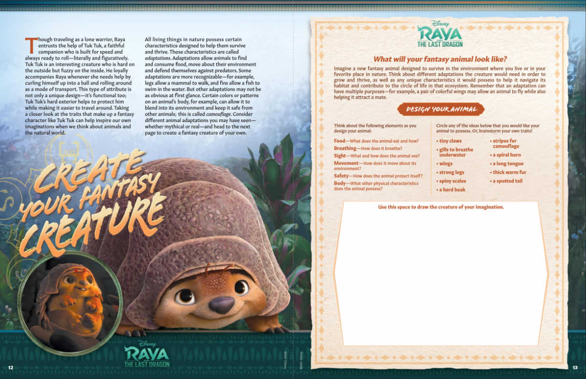 raya activity pack page 7