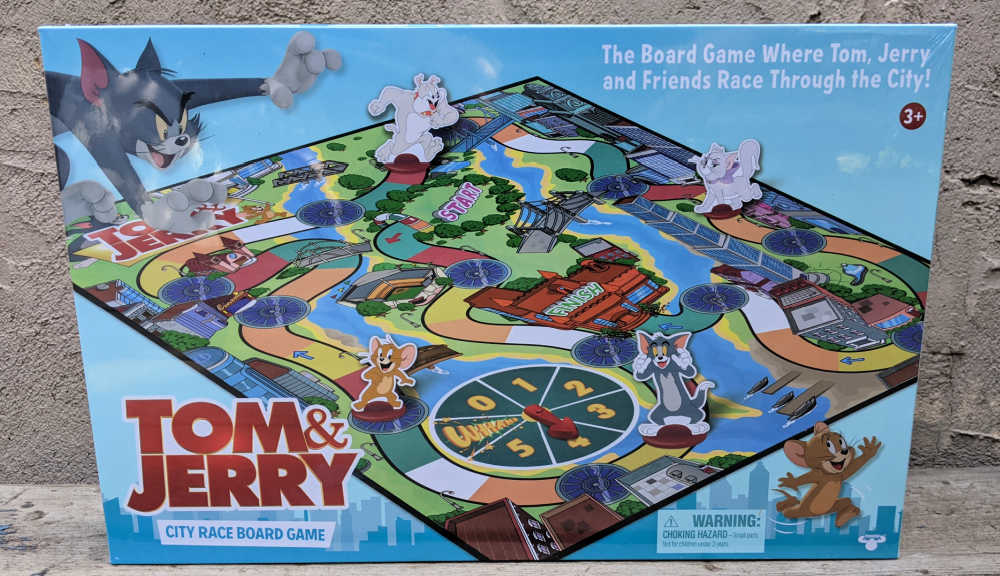 game - tom and jerry city race.