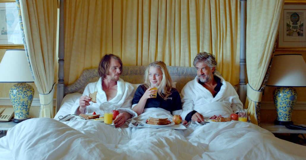 waterboys breakfast in bed scene.