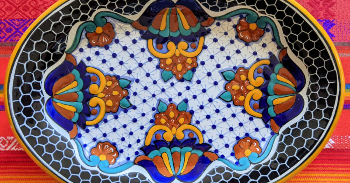 mexican platter from novica.
