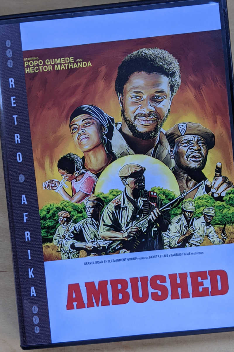 Ambushed, a classic South African adventure film, has been digitally remastered and is now available for home viewing.