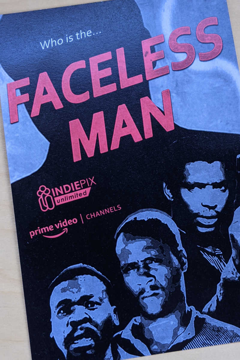 The Retro Afrika movie collection is expanding with the release of the digitally remastered 1980 South African classic, Faceless Man.