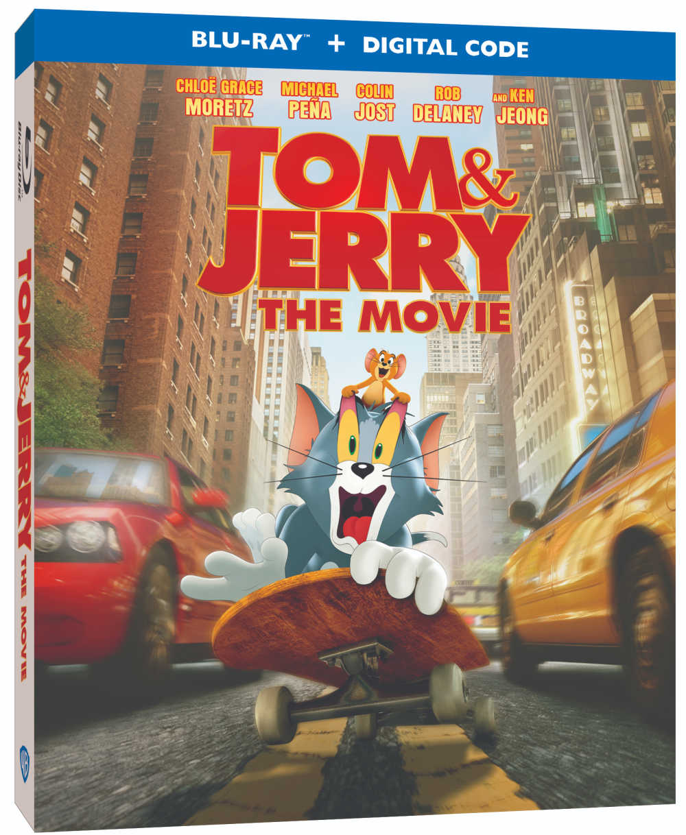 The classic cartoon cat and mouse duo are here for brand new fun, so add the Tom and Jerry blu-ray to your home collection.