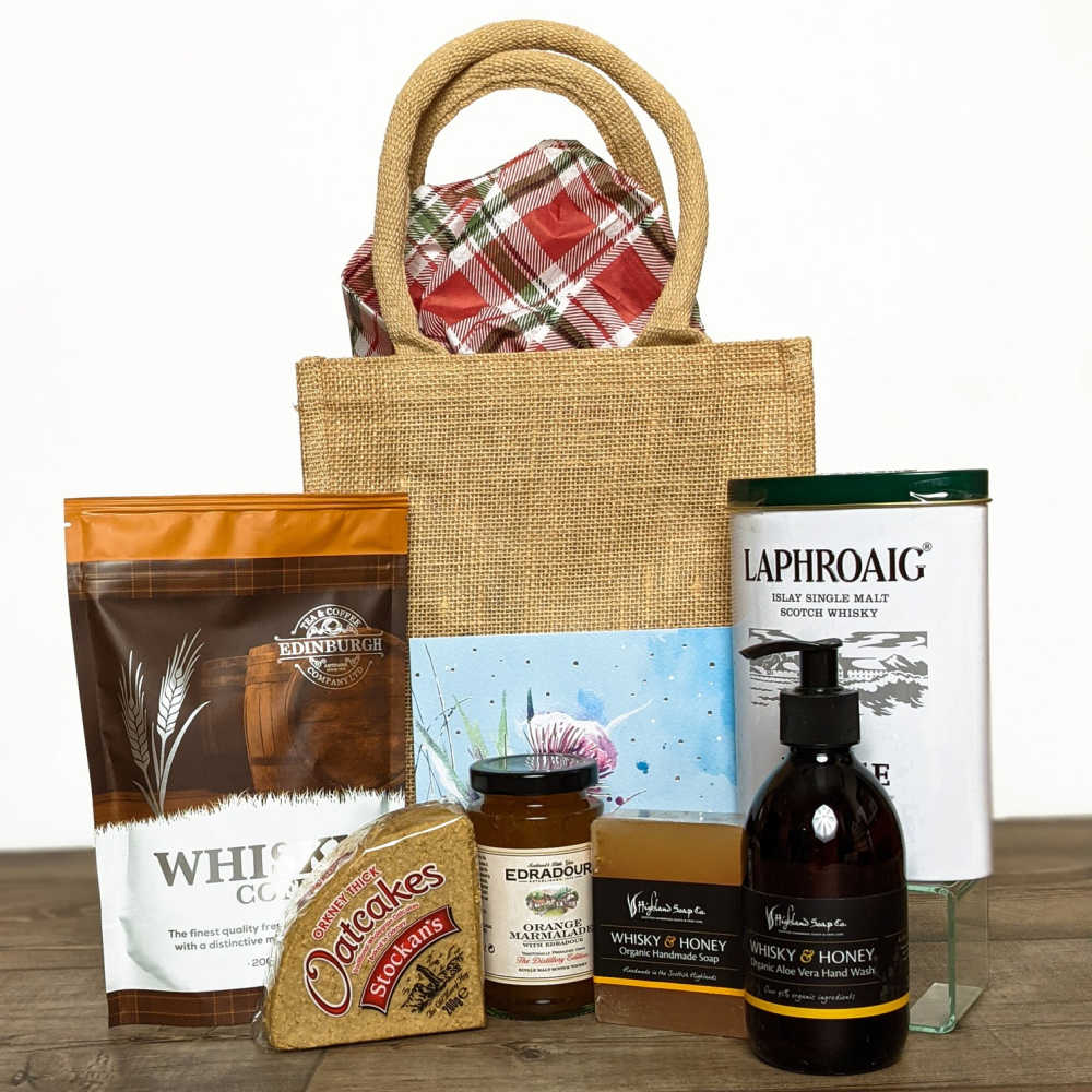 Scottish Grocer Fathers Day Gift Set.
