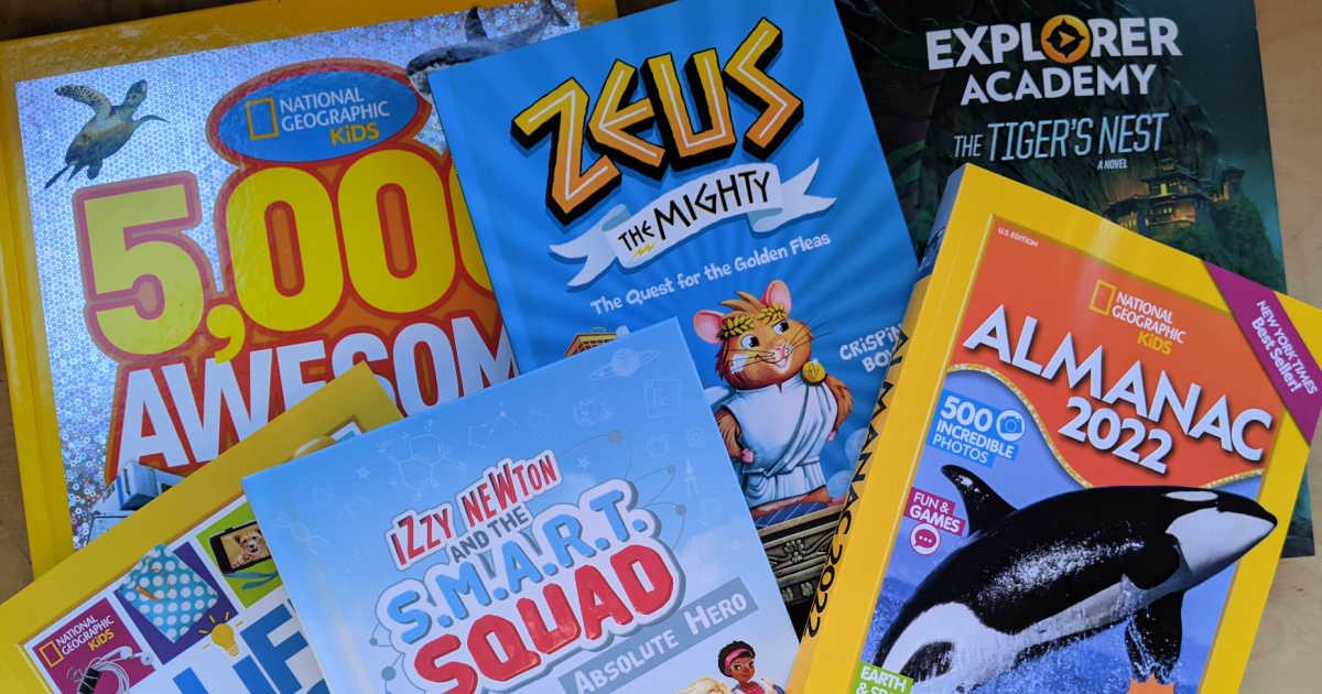 nat geo kids summer books.