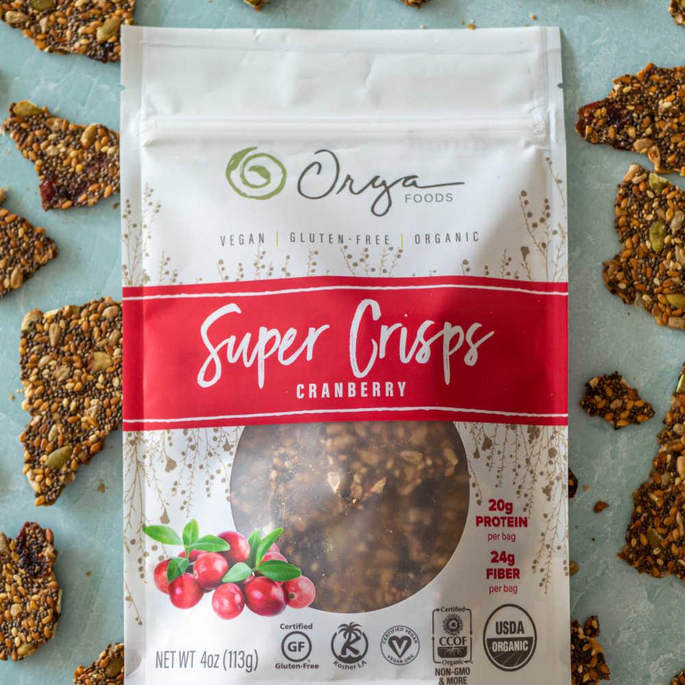 cranberry super crisps from orga foods.