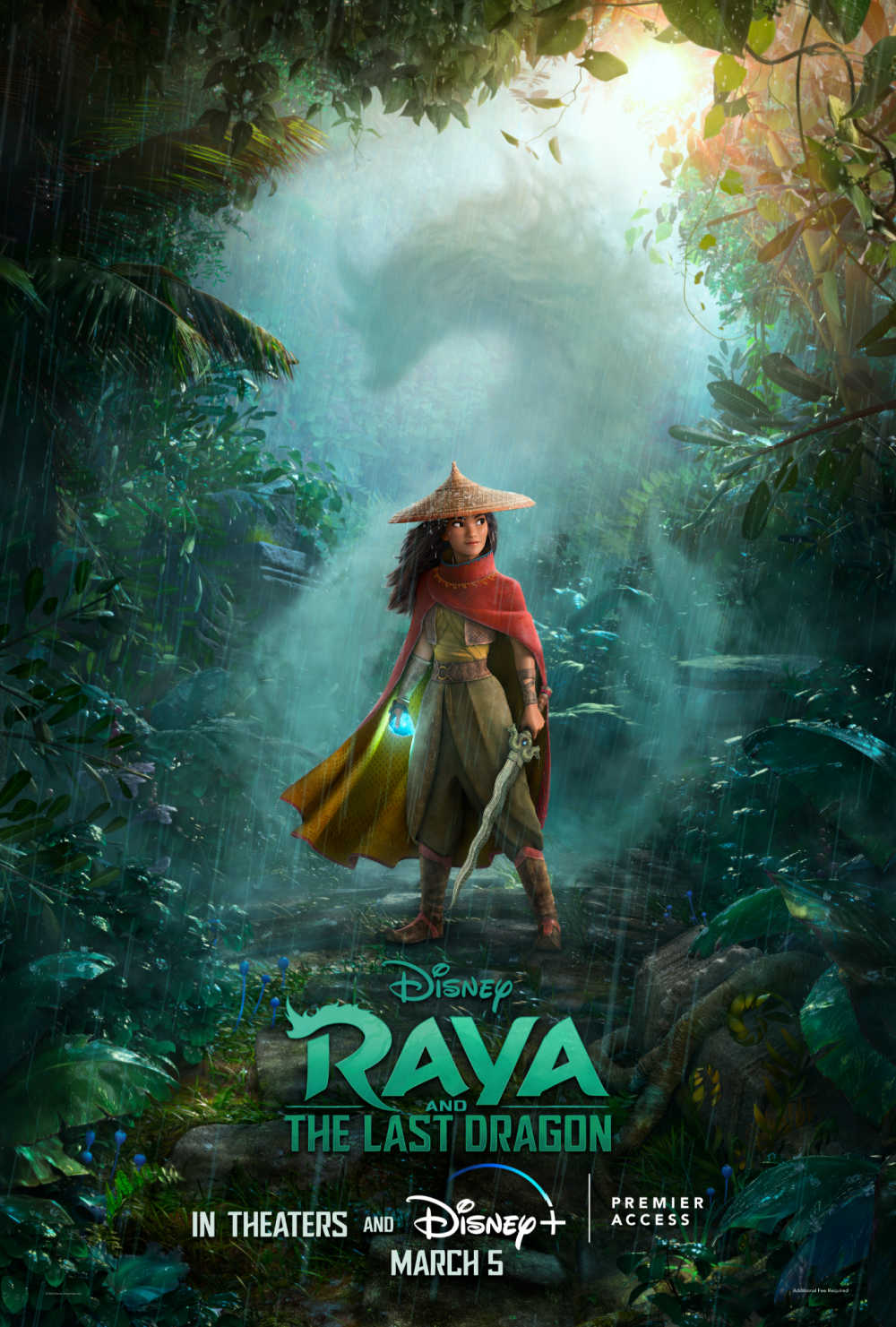Family movie night is full of fun, adventure and fantasy, when you watch Disney's Raya and The Last Dragon together.
