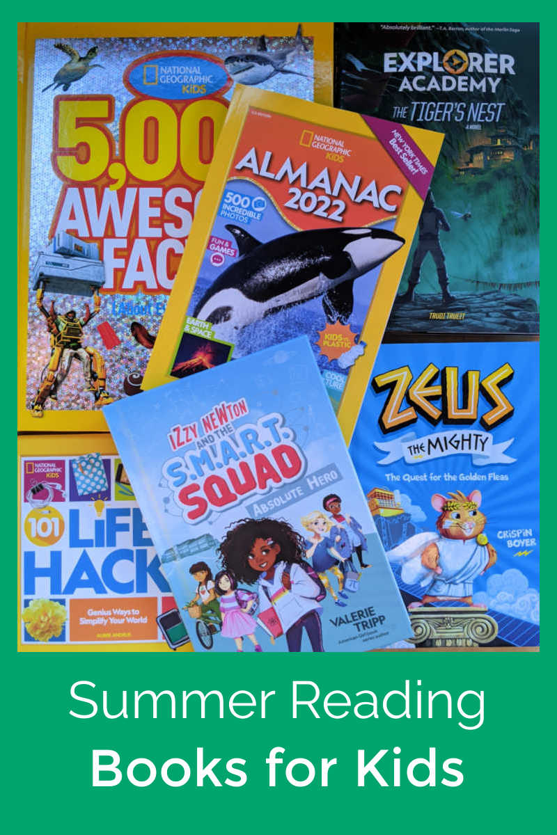Check out these amazing Summer reading books for kids, so your children can have fun using their minds while school is out.
