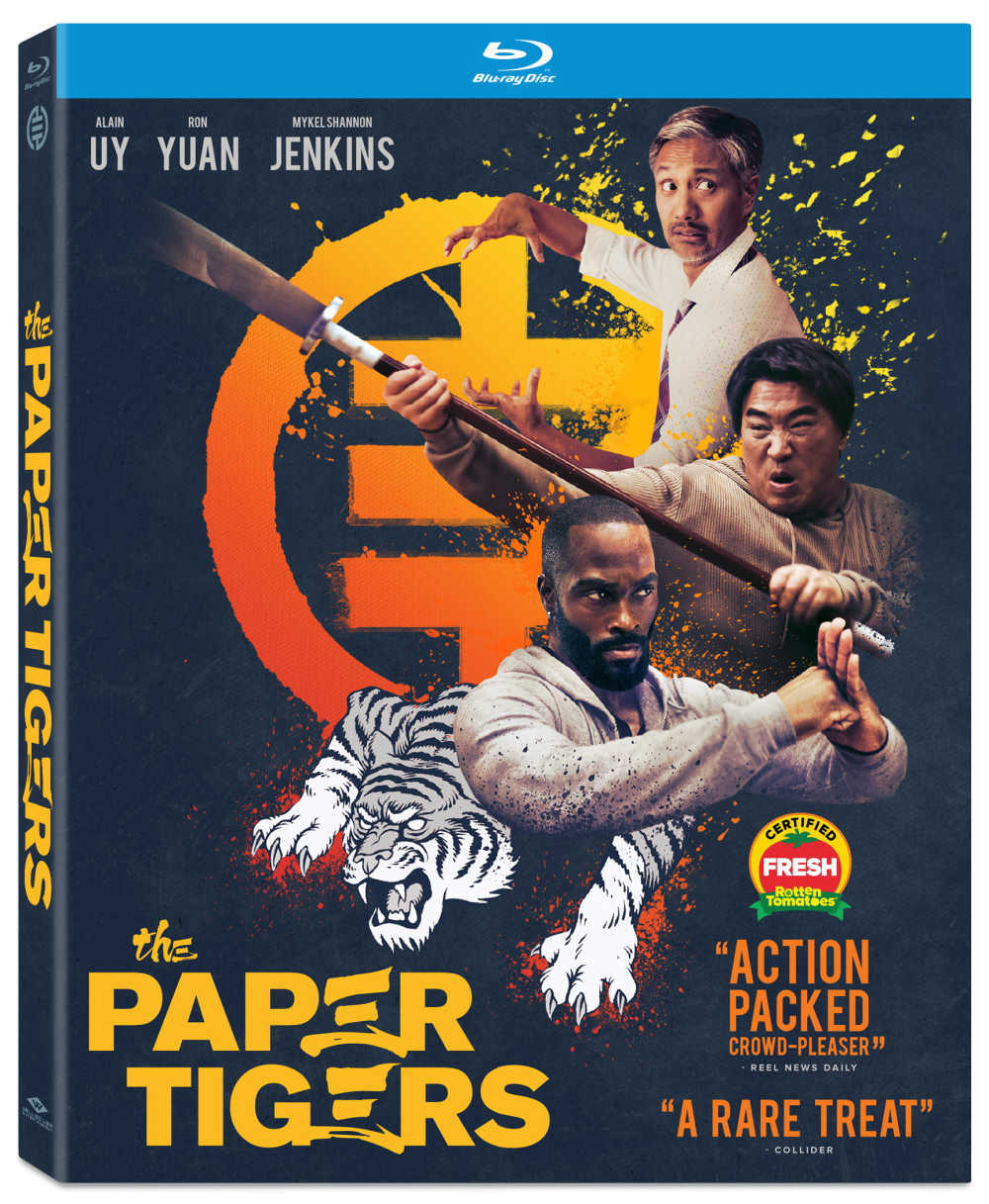 I grew up watching Bruce Lee, Jackie Chan and The Karate Kid, so was excited to see The Paper Tigers martial arts film.