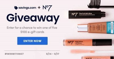June 2021 No7 Gift Card Giveaway
