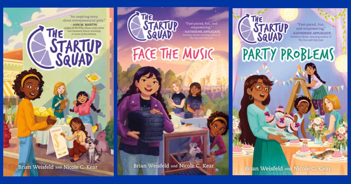 Startup Squad Book Series