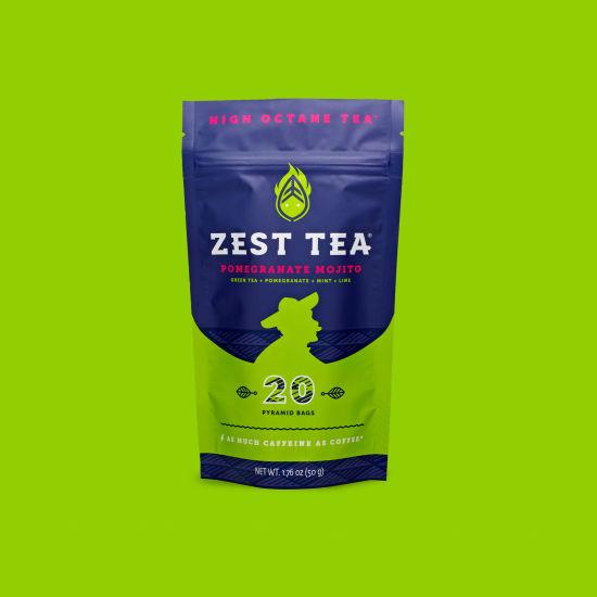 Zest Tea Pomegranate