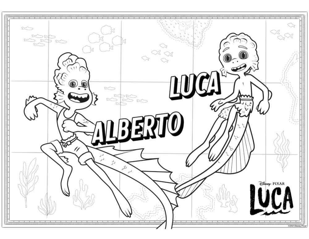 alberto luca coloring page